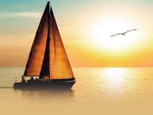 Asverstrooiing per schip
