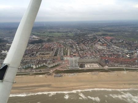 Asverstrooiing ter hoogte van Zandvoort