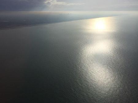 Asverstrooiing per vliegtuig 15 februari 2017