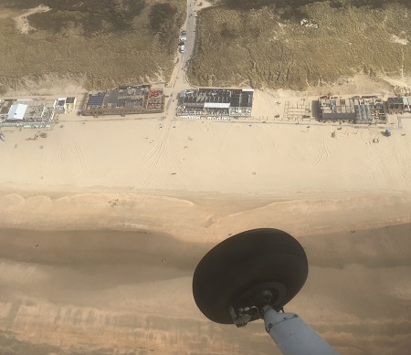 flyby ter hoogte van Catsricum